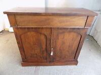 antique,victorian,mahogany,chiffonair,sideboard,dresser,cupboard,drawer,shelves