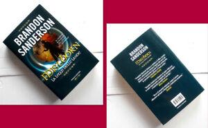 BRANDON SANDERSON - MISTBORN La Legge Delle Lande -  2013 FANUCCI EDIT. OTTIMO!!