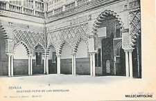 SPAIN - Sevilla - Alcazar - Patio de las Doncellas - Hauser y Menet