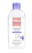 Mixa Micellar Water Very Pure Face and Eyes 99.6% Natural Hypoallergenic 400 ml