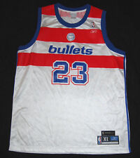 Michael Jordan 23 Washington Bullets Reebok Jersey XL Hardwood Classic Wizards
