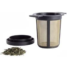 Finum Brewing Basket M Teefilter, 7,3x9,7 cm, schwarz, Filter, Kaffeedauerfilter