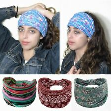 Summer Dreadlock Accessories Fancy Headband Hippie Boho Gypsy Colorful Head Wrap