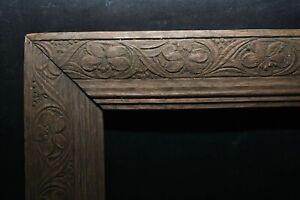 Encadrement Cadre en bois Art Nouveau vers 1910