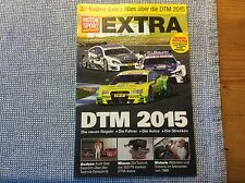 "MOTOR SPORT aktuell EXTRA ""Sonderbeilage ""DTM 2015"""