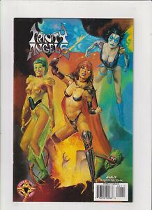 Trinity Angels #1 VF/NM 9.0 Valiant/Acclaim Comics 1997 Painted Variant