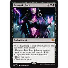 MTG Demonic Pact NM - Magic Origins