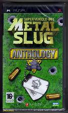 PSP metal slug anthology (2007) francese boxtext, Sony Nuovo di Zecca & Sigillato in Fabbrica