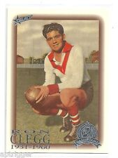 1996 Select Hall of Fame PLATINUM (59) Ron CLEGG South Melbourne