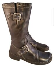 7M STUNNING DONALD J PLINER WOMAN BOOTS RIDING EQUESTRIAN PEACE FOR THE CHILDREN