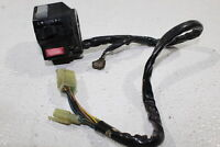 87-95 YAMAHA FZR1000 OEM LEFT CLIP ON HANDLE HORN TURN SIGNALS SWITCHES
