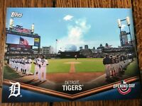 Detroit Tigers 2018 Topps Opening Day Opening Day at the Ballpark Insert