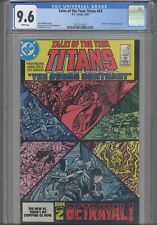 Tales of the Teen Titans #43 CGC 9.6 1984 DC Part 2 Judas Contract : New Frame