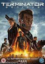 TERMINATOR 5 DVD Genisys DVD Geneses Movie Film Arnold New Sealed UK Release