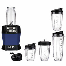 Nutri Ninja Auto iQ Pro Complete Counter Blender, Blue (Certified Refurbished)