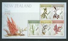 NEW ZEALAND 2014 NATIVE SEAWEEDS MINIATURE SHEET UNMOUNTED MINT, MNH