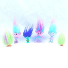 Dreamworks Trolls Lot of 6 Collectible 2015 Mini