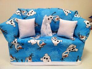 Disney Frozen Olaf Snowflakes Tissue Box Cover Handmade