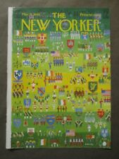 Vintage New Yorker Magazine (COVER ONLY) March 15 1969 - Anatol Kovarsky art