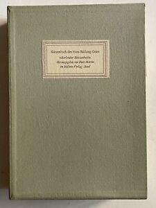 Kurt Martin Skizzenbuch des Hans Baldung Grien, Hans Baldung Grien, Kunst