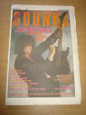 SOUNDS 1988 JUNE 23 JIMMY PAGE MICHAEL JACKSON WEDDING PRESENT QUIREBOYS