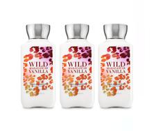 Bath and Body Works Body Lotion Hand Cream 8 oz WILD MADAGASCAR VANILLA x3 New