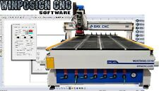 SOFTWARE CNC Montly Plan + a month free license WinPCSIGN CNC. Designs & Gcode