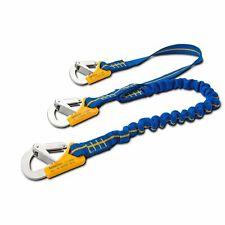 Seilflechter Stretch Y-Lifeline Atlantik flexibel,3-TriangelkarabineDIN ISO12401