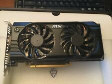 MSI GeForce GTX 560 (Fermi) DirectX 11 N560GTX-M2D1GD5 1GB 256-Bit GDDR5 PCI Exp
