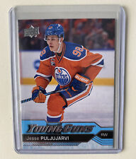 2016-17 Upper Deck #225 Jesse Puljujarvi Young Guns Edmonton Oilers🔥PACK PULLED