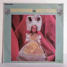 """33T SOUVENIRS DE BRETAGNE Vinyle LP 12"""" PEDENN AR MINTIN Poupée Folk VYG 10076"""