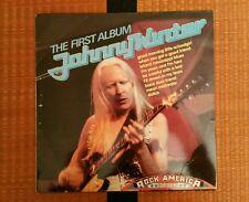 "JOHNNY WINTER ""THE FIRST ALBUM"" ROCK AMERICA SERIES 1969 CBS VINYL"