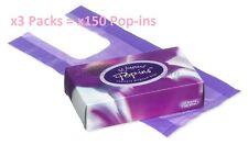x3 Lots Robinson Health Pop-ins Sanpro Fragrant Sanitary Disposal Bags x3 = 150