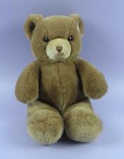 Brown 15 Inch Plush Stuffed Teddy Bear By Gund 1983