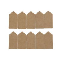 100X Kraft Paper Tags Label Luggage Wedding Birthday Christmas Party Blank Card5