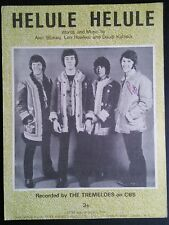 Helule Helule - The Tremeloes - 1968 Sheet Music
