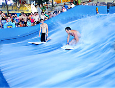 75'x20' Commercial Fiberglass Surfing Wave Simulator Water Slide Park We Finance