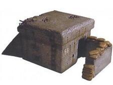 Artitec 80006 WW2 Machine Gun Bunker MG Resin Kit 1:87 Scale