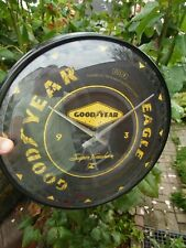 Goodyear Eagle Tyre - WALL CLOCK - Metal /Glas - Licensed  NEW in sealed Box