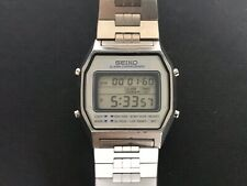 vintage Seiko A939-5000 Alarm Chronograph Digital LCD watch 70s/70er retro Uhr