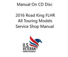 Cd Service Manual For 2016 Harley Davidson Road King Flhr Flhrc Touring Models