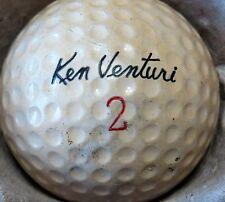 (1) Ken Venturi Signature Logo Golf Ball (Cir 1960 #2 Super Tough Cover)