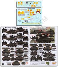 1:35 3/5 CAV M551s M113s 9th Infantry Black Knights Vietnam Echelon Decal 356263