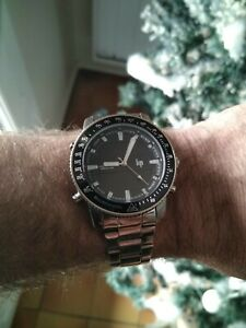 Montre LIP World Time Chronographe Alarme .