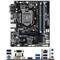 Gigabyte GA-B85M-D3V Plus for Intel Socket LGA 1150 Micro ATX Motherboard DDR3