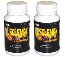 Musclemax Xtreme BODY BUILDING SUPPLEMENT gain muscle muscles mass growth FAST