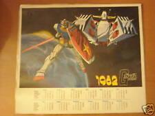 機(雞)動戰士高達/鋼單精美年曆咭(1982年份) 實物如圖 Gundam Calendar Card Since1982
