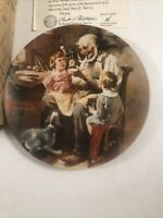 Norman Rockwell The Toy Maker 1977 Plate # 2713 P