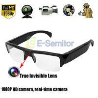 1080P HD Mini Camera Glasses Hidden Eyewear DVR Video Recorder Cam Camcorder-UK