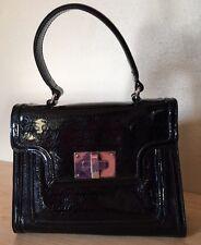 SIMPLY VERA WANG Black Satchel Shoulder Bag Purse Handbag